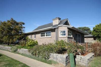 Oceanside,  Carlsbad , Vista, San Marcos, Encinitas, Escondido, Rancho Santa Fe, Cardiff By The Sea, Solana Beach Rental For Rent: 740 E Solana Circle