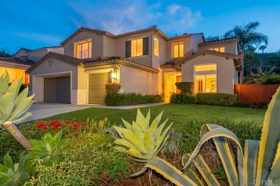 Carlsbad Single Family Home For Sale: 2318 Masters Rd