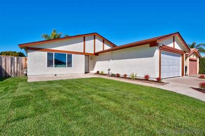San Diego Single Family Home For Sale: 10976 Salinas