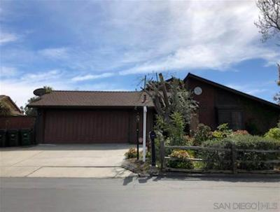 Vista CA Single Family Home For Sale: $559,000