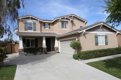 Oceanside Single Family Home For Sale: 2220 Bliss Circle