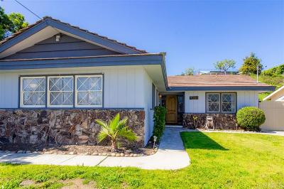 Single Family Home For Sale: 8150 Whitehead Pl