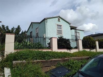 San Diego Single Family Home For Sale: 5754 Market St