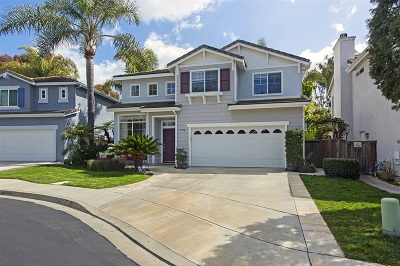 Carlsbad Single Family Home For Sale: 7778 Paseo La Jolla
