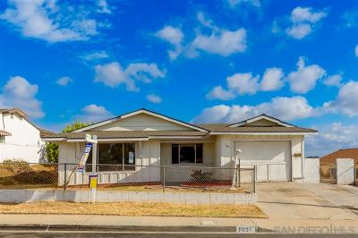 San Diego Single Family Home For Sale: 1883 Ridgewood Dr