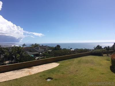 La Jolla Single Family Home For Sale: 1671 Paseo Bonita