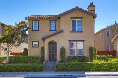 Chula Vista Single Family Home For Sale: 1649 Moonbeam Ln