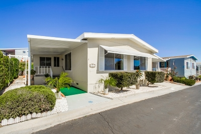 San Marcos Mobile/Manufactured For Sale: 650 S Rancho Santa Fe Rd. #252