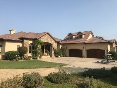 Bonita Single Family Home For Sale: 3340 El Rancho Grande