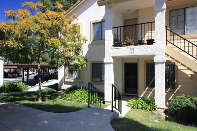 San Diego County Attached For Sale: 8574 Summerdale Rd #149