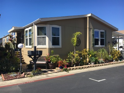 San Diego County Mobile/Manufactured For Sale: 12818 Flora Vista St #168