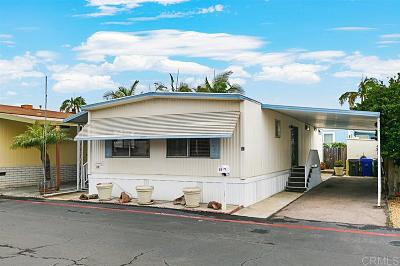 San Diego County Mobile/Manufactured For Sale: 58 Maywood Lane