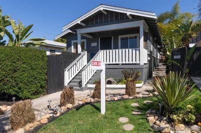 San Diego Multi Family 2-4 For Sale: 3965 Louisiana Street