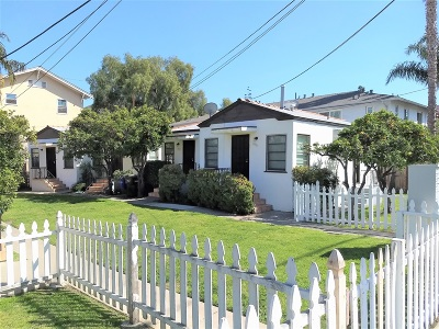 San Diego CA Multi Family 2-4 For Sale: $1,500,000
