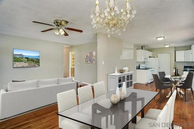 San Diego Single Family Home For Sale: 235 Euclid Ave
