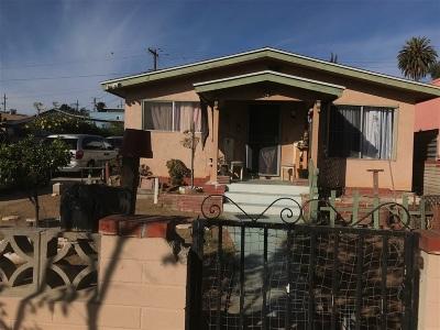 San Diego Single Family Home For Sale: 3920 Hemlock St