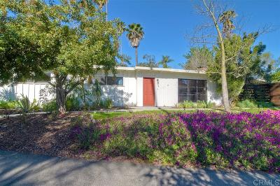 Vista CA Single Family Home For Sale: $529,000