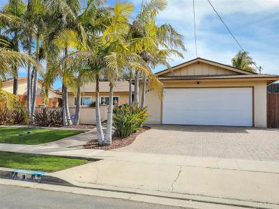 Carlsbad, Carlsabd Single Family Home For Sale: 3494 Catalina Dr
