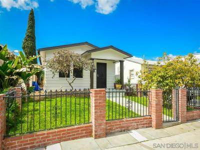 San Diego Single Family Home For Sale: 4518 Cherokee Ave