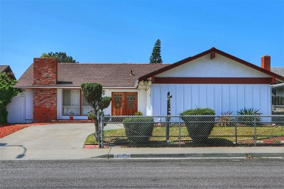 Chula Vista Single Family Home For Sale: 1256 Nacion Ave