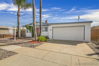 San Diego CA Single Family Home For Sale: $599,900
