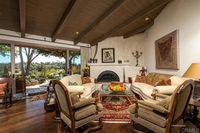 Single Family Home For Sale: 5557 San Elijo