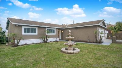 San Diego CA Single Family Home For Sale: $525,000