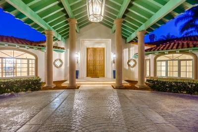 Rancho Santa Fe Single Family Home For Sale: 18056 Via Roswitha