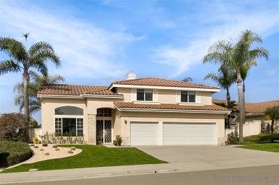 Oceanside Single Family Home For Sale: 4860 Glenhollow Cir