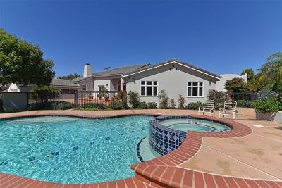 La Jolla CA Single Family Home For Sale: $3,495,000