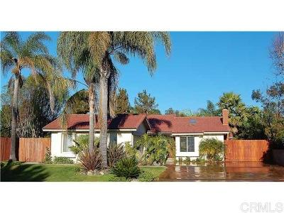 Encinitas Single Family Home For Sale: 303 Gardendale Rd