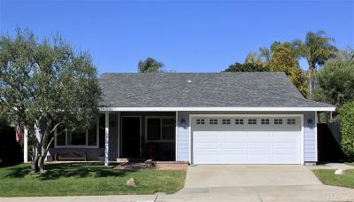Encinitas Single Family Home Pending: 2112 Poppyfield Place