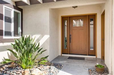 Oceanside Single Family Home For Sale: 4750 Gardenia St