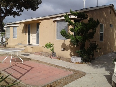 San Diego Multi Family 2-4 For Sale: 1185 30th. St