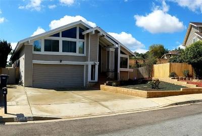 Escondido CA Single Family Home For Sale: $590,000