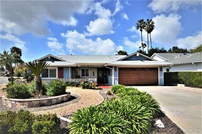 San Marcos Single Family Home For Sale: 844 San Pablo Dr