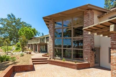 Rancho Santa Fe Single Family Home For Sale: 15350 El Camino Real