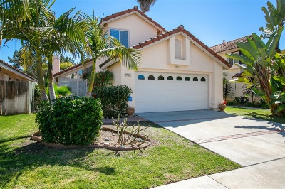 Oceanside Single Family Home For Sale: 1765 Avenida Vista Labera