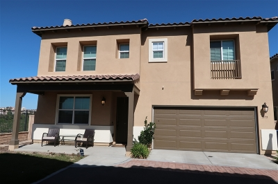 Chula Vista Single Family Home For Sale: 1373 Cathedral Oaks Rd