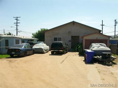 San Diego Single Family Home For Sale: 3585 Boston Avenue