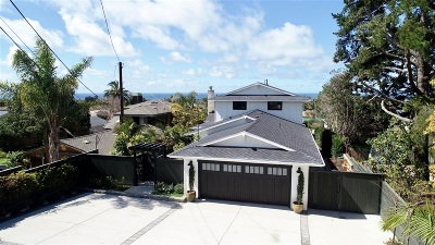 Encinitas Single Family Home For Sale: 1050 Wotan Dr