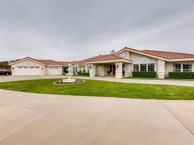 Riverside County Single Family Home For Sale: 38092 Via Huerta