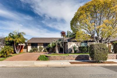 San Diego CA Single Family Home For Sale: $1,029,000