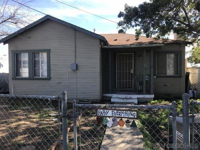 San Diego County Single Family Home For Sale: 2136 E 22nd St