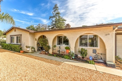 Escondido Single Family Home For Sale: 1015 Turtle Dove Ln