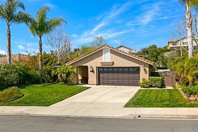 Carlsbad Single Family Home For Sale: 3286 Avenida Anacapa