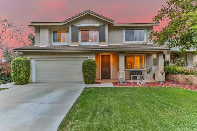 Vista CA Single Family Home For Sale: $549,000