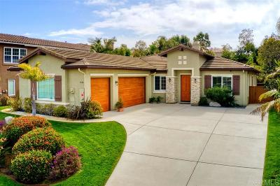 Carlsbad Single Family Home For Sale: 1648 Brady Circle