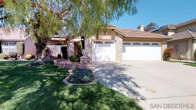 Riverside County Single Family Home For Sale: 31062 Corte Alamar