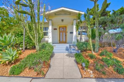 San Diego Single Family Home For Sale: 3282 Meade Avenue